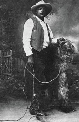 Cowboy Ben Pickett Poster by Granger