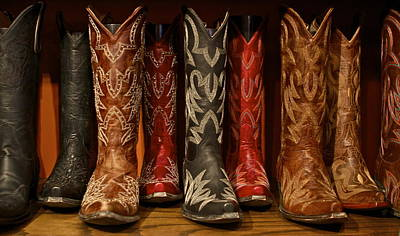Cowboy Boots Poster