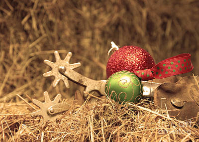 Cowboy Christmas Poster