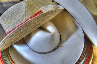 Cowboy Hats Poster