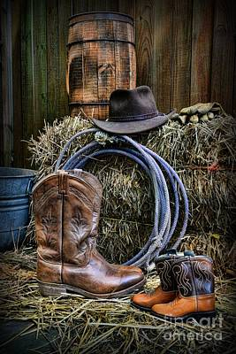 Cowboy - When I Grow Up Poster by Paul Ward