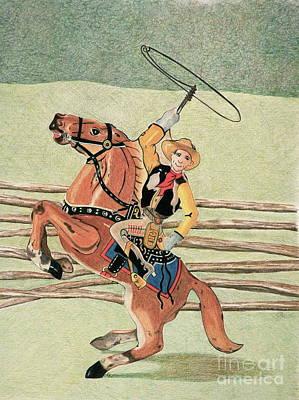 Cowboy Windup Poster