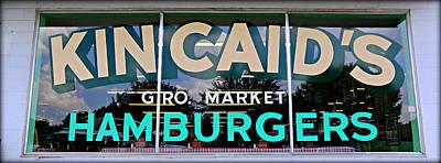 Cowtown Classic Hamburger Poster