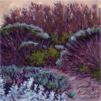 Coyote Brush And Willows Poster