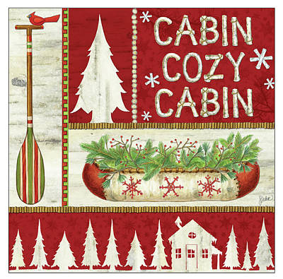 Cozy Cabin Poster