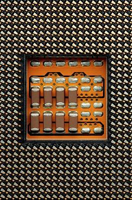 Cpu Socket Poster by Antonio Romero