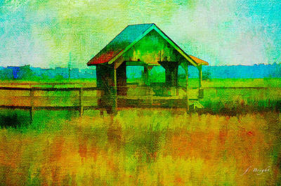 Crab Shack Pawleys Island Poster