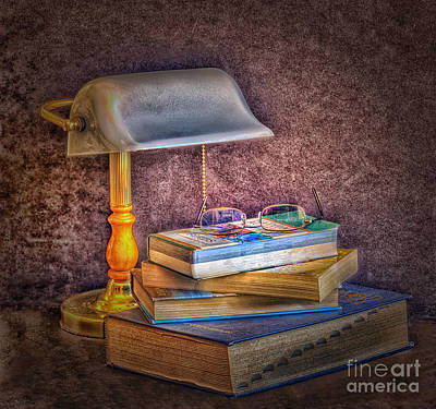 Crack The Books Poster by Arnie Goldstein