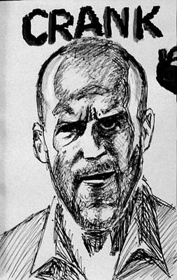 Poster featuring the painting Jason Statham by Salman Ravish