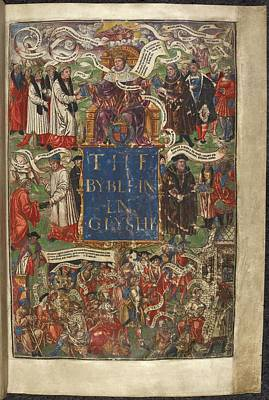 Cranmer's Bible Poster by British Library