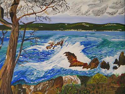 Crashing Wave Poster by Eric Johansen