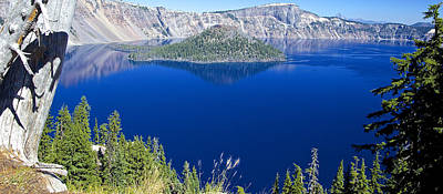 Poster featuring the photograph Crater Lake Panorama 090914b by Todd Kreuter