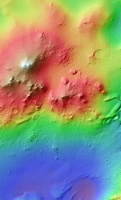 Crater Uplift Poster