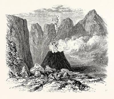 Crater Vesuvius Poster