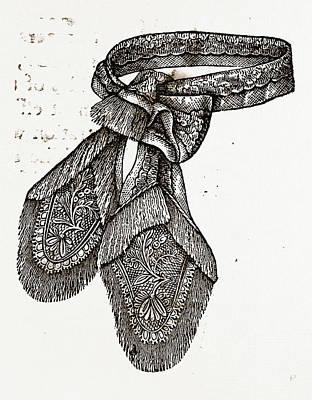 Cravat, Needlework Poster