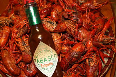 Crawfish And Tabasco Poster