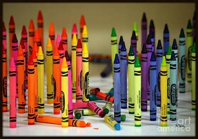 Crayon Wars Poster