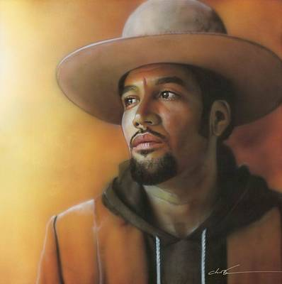 Ben Harper - ' Crazy Amazing ' Poster by Christian Chapman Art