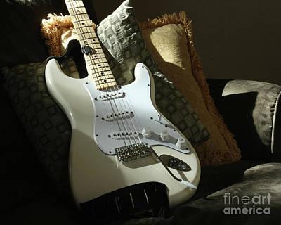 Cream Guitar Poster