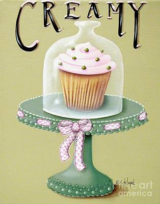 Creamy Cupcake Poster