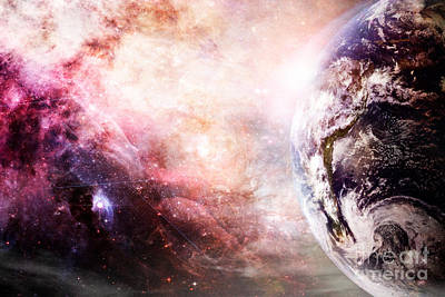 Creation Of Earth Poster
