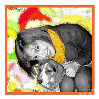 Creative Portrait Sample Poster by Joan  Minchak