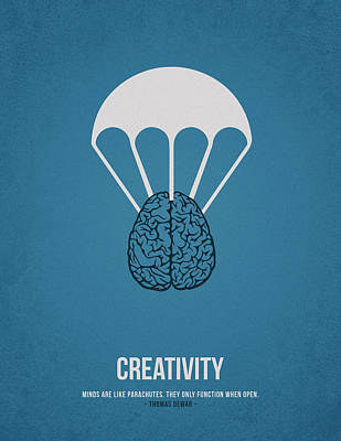 Creativity Poster by Aged Pixel