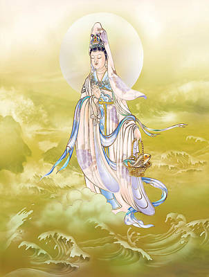 Poster featuring the photograph Creel Kuan Yin by Lanjee Chee