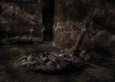Creepy Crosses Poster by Gary Warnimont
