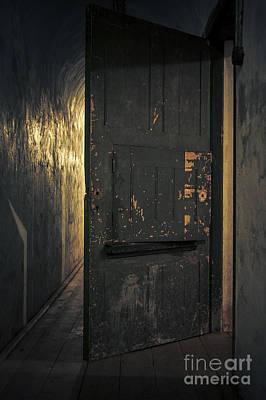 Creepy Door Poster