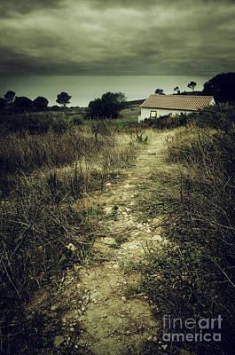 Creepy Trail Poster by Carlos Caetano