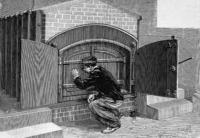 Crematorium Furnace Poster by Bildagentur-online/tschanz
