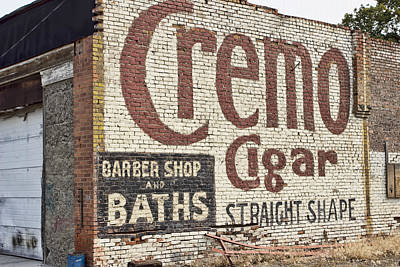 Cremo Cigar Poster by Cathy Anderson