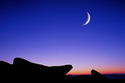 Crescent Moon Halibut Pt. Poster