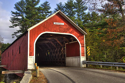 Cresson Covered Bridge 2 Poster