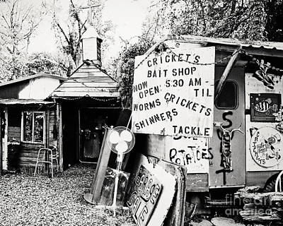Cricket's Bait Shop Poster by Scott Pellegrin