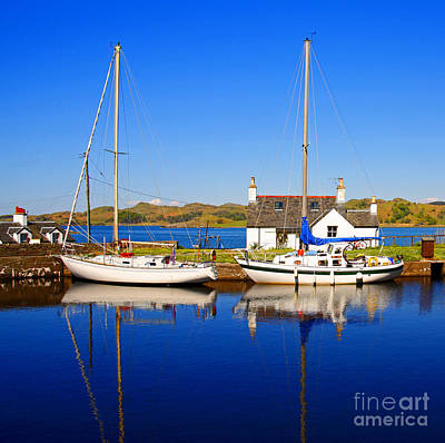 Poster featuring the photograph Crinan Canal by Craig B