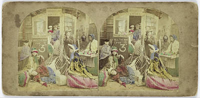 Crinoline Difficulties, Anonymous Poster