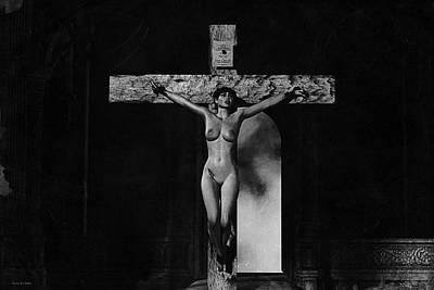 Crista En Blanco Y Negro Poster