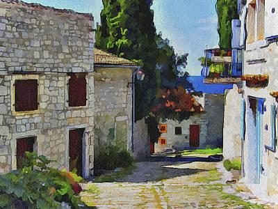 Croatia Rovinj View 1 Poster