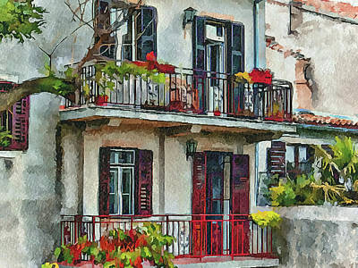Croatia Rovinj View 2 Poster