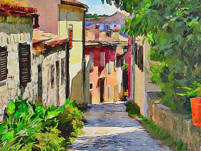 Croatia Rovinj View 3 Poster
