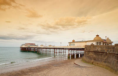 Cromer Pier Poster by Shirley Mitchell