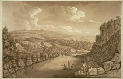 Cromford Bridge In Derbyshire Poster