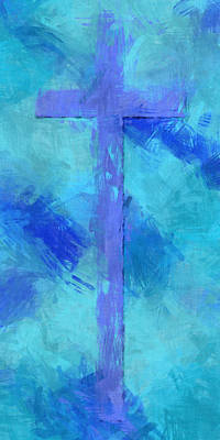 Cross For The World Poster by David G Paul