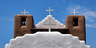 Crosses - San Geronimo Poster