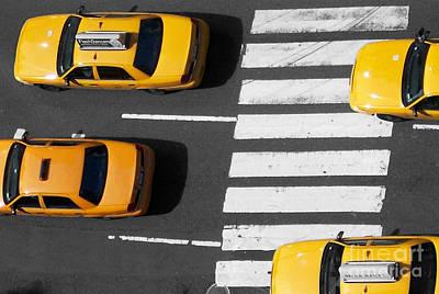 Crosswalk Poster by Dan Holm