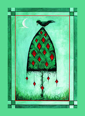 Crow Dreams 2 Poster by Terry Webb Harshman
