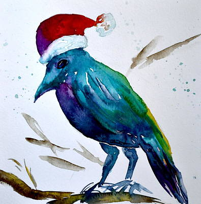 Crow Ho Ho Poster by Beverley Harper Tinsley