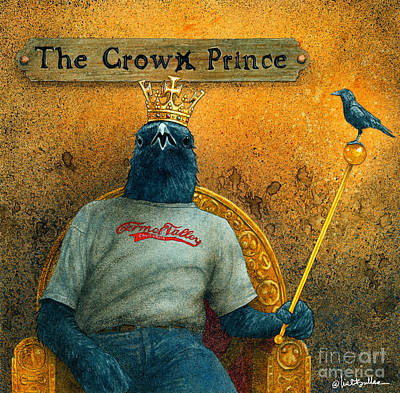 Crow Prince ...  Poster by Will Bullas